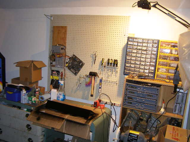 My workbench area